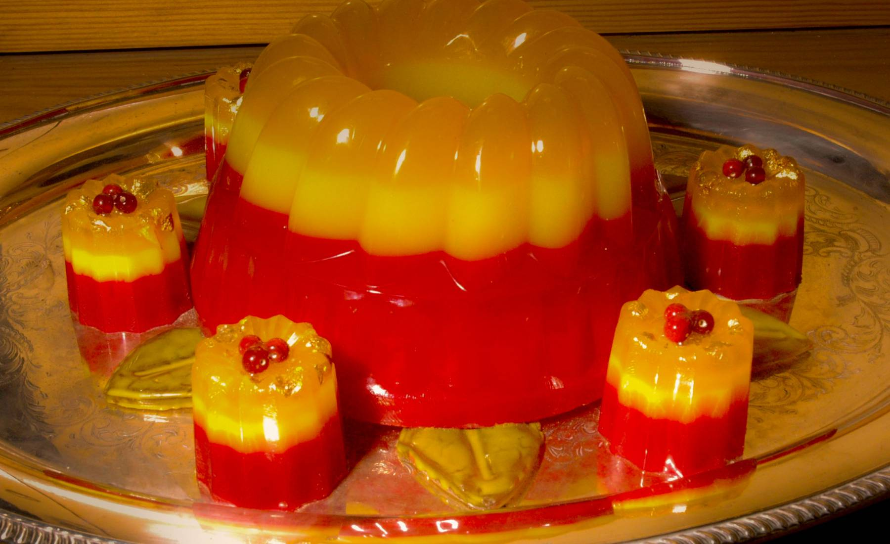 jellies, yellow, red, coloured resin, galley kitchen, s.s. great britain, puddings, banquet, victorian